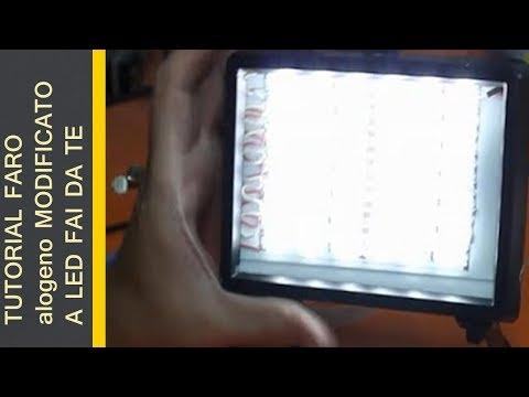Come costruire Faretti LED per video - Fai da Te Tutorial  Doovi