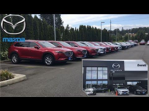 Mazda Dealership   2018 SUV Lineup CX-5 CX-9