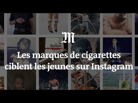 Les marques de tabac visent les jeunes sur Instagram
