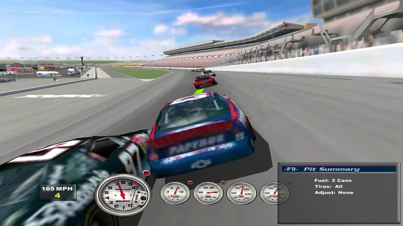 Nascar Racing Games >> Nascar Racing 2002 Season Pc Gameplay Hd
