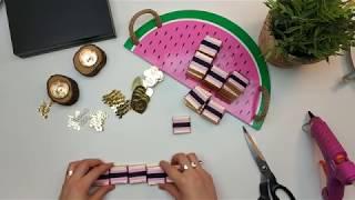 Minnie Mouse Çikolata Kutusu Yapımı