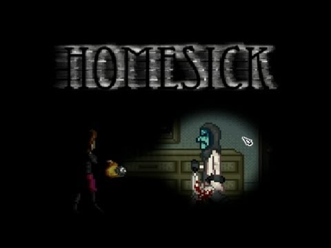 Homesick Terror En 2d Horror Indie Game Youtube