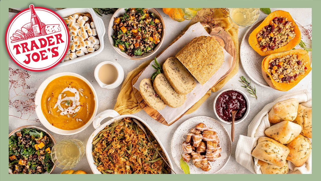 7 Course Trader Joe's Thanksgiving Dinner (Easy Vegan Recipes)
