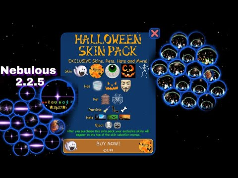 Nebulous - Halloween Pack, New Skins, Some Improvements