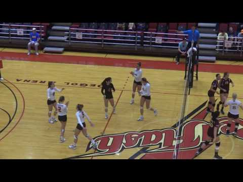 Red Flash Women's Volleyball Vs Iona Highlights