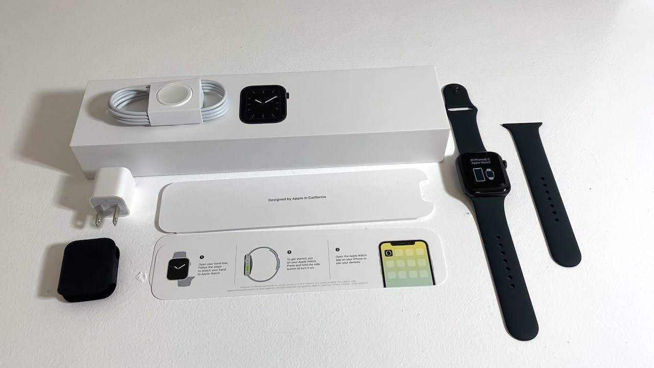 Apple Watch Series 5 Unboxing Gold Aluminum Case 40mm Youtube