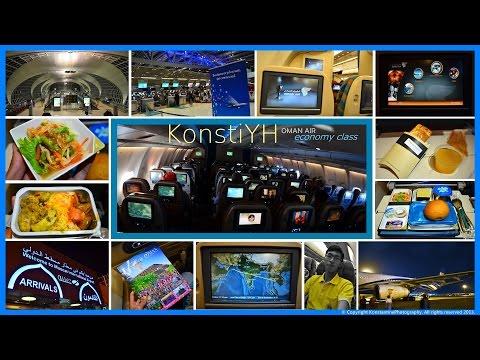 Oman Air Flight Review : WY816 Bangkok to Muscat by KonstiYH