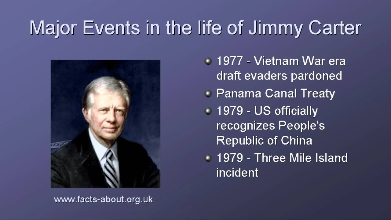 President Jimmy Carter Biography Youtube