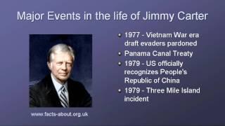 President Jimmy Carter Biography Youtube