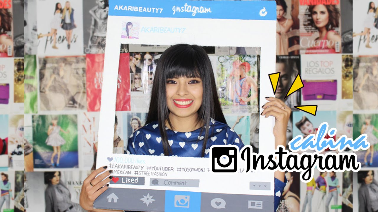 DIY: Cabina de fotos Instagram | Photo Booth - YouTube