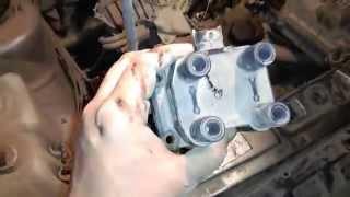 видео Модуль зажигания на ВАЗ 2109 (карбюратор, инжектор): подключение высоковольтных проводов, диагностика неисправностей