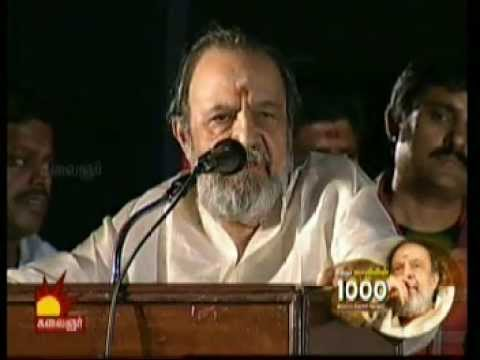 vaali speech at vaali 1000