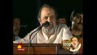 vaali speech at vaali 1000