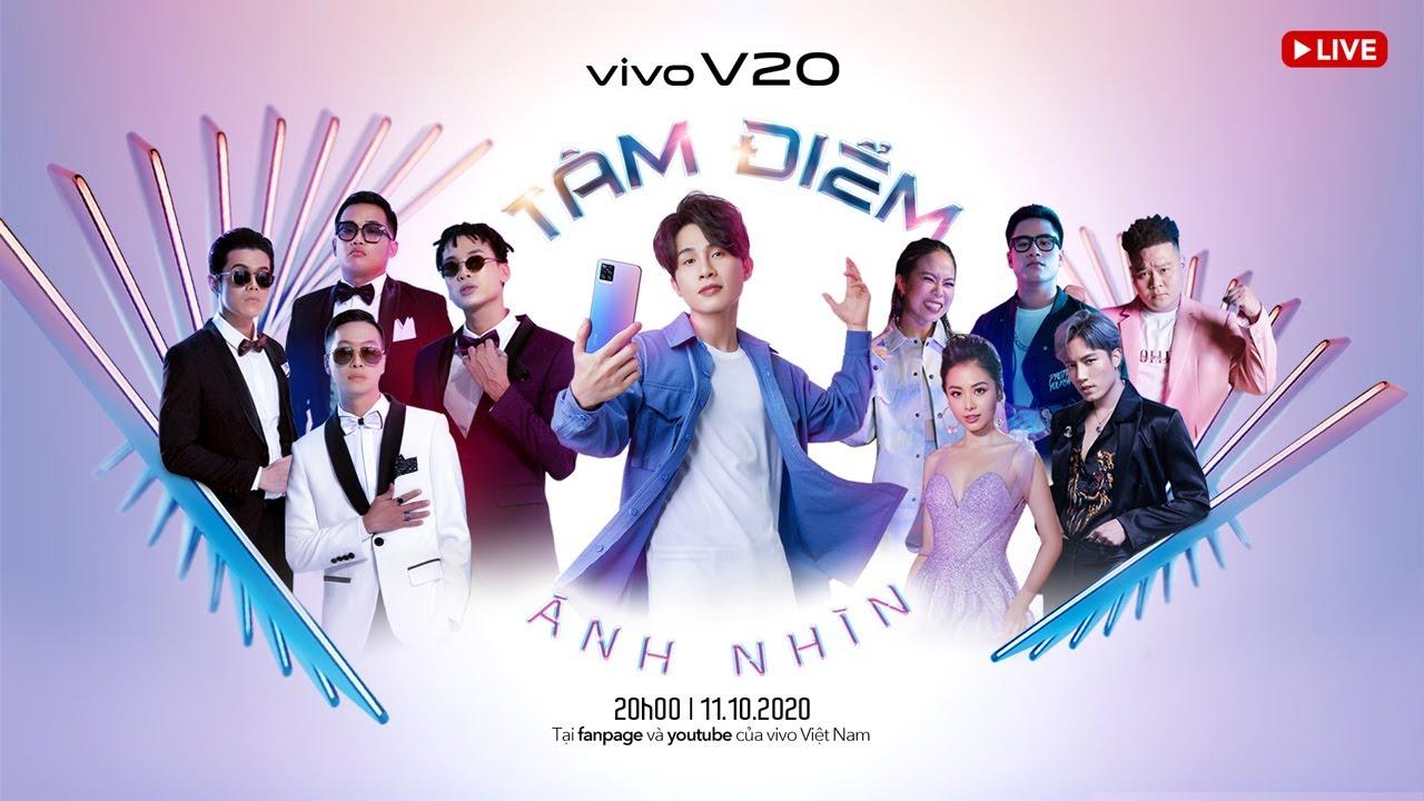 Đón xem sự kiện ra mắt điện thoại vivo V20: Tâm Điểm Ánh Nhìn 20:00h ngày 11/10