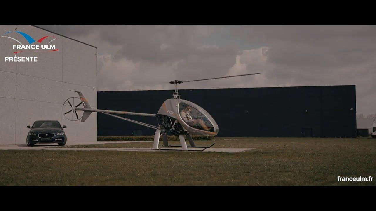 Découvrez l'Hélicoptère chez France ULM