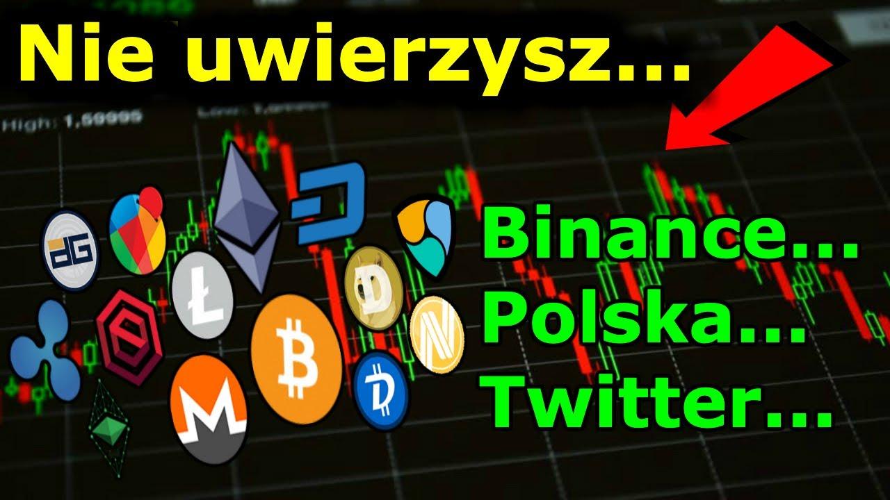 Cena Bitcoina i BOOM Na Kryptowaluty - Wiadomości z Binance Polski i Twittera