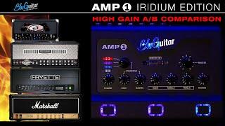 A/B Comparison: AMP1 IRIDIUM EDITION vs. Dual Rectifier, Generator 40-7,  Deliverance 60 \u0026 JCM800