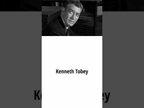 Actor Kenneth Tobey