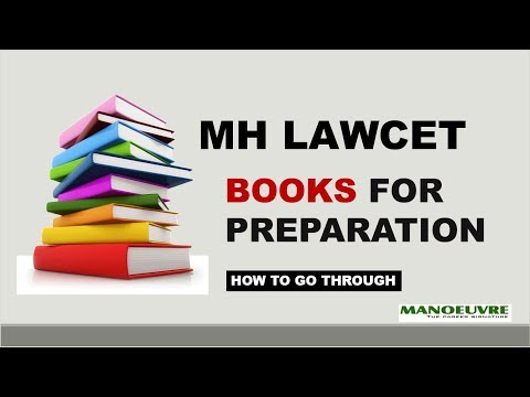MH LAWCET - BOOKS FOR PREPARATION (HOW TO GO THROUGH)