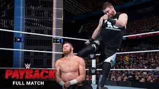 FULL MATCH - Sami Zayn vs. Kevin Owens: WWE Payback 2016