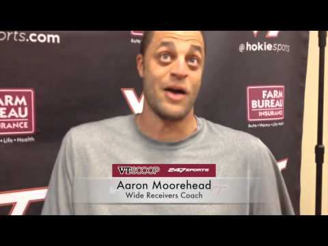 Post-Practice 9/2 with Aaron Moorehead