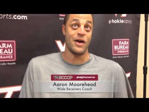 Post-Practice 9/2 with Aaron Moorehead
