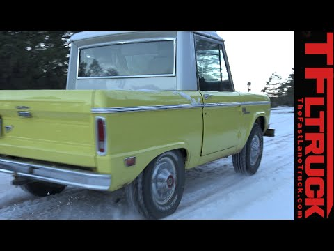 Buying A 1968 Ford Bronco Half Cab Part 1