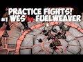 DST → Wes VS Ancient Fuelweaver (No Weather Pain, Bee Queen Crown) (Practice Fights)