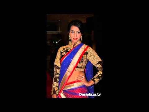 Sanjana New Photos In Saree thumbnail