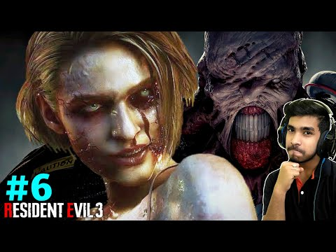 JILL HAS BEEN INFECTED   RESIDENT EVIL 3 GAMEPLAY #6