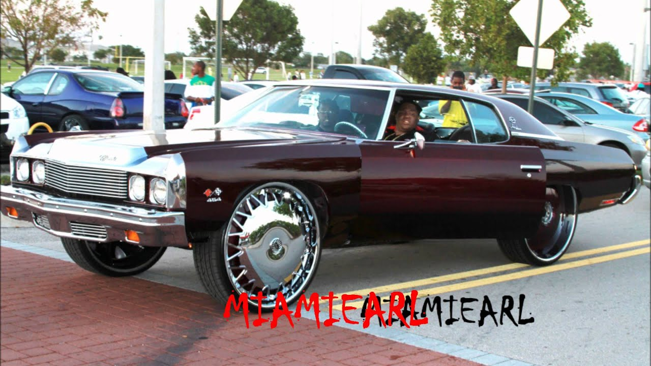 """73' Donk on 30"""" Davin Highlight Floaters at the Easter car ..."""