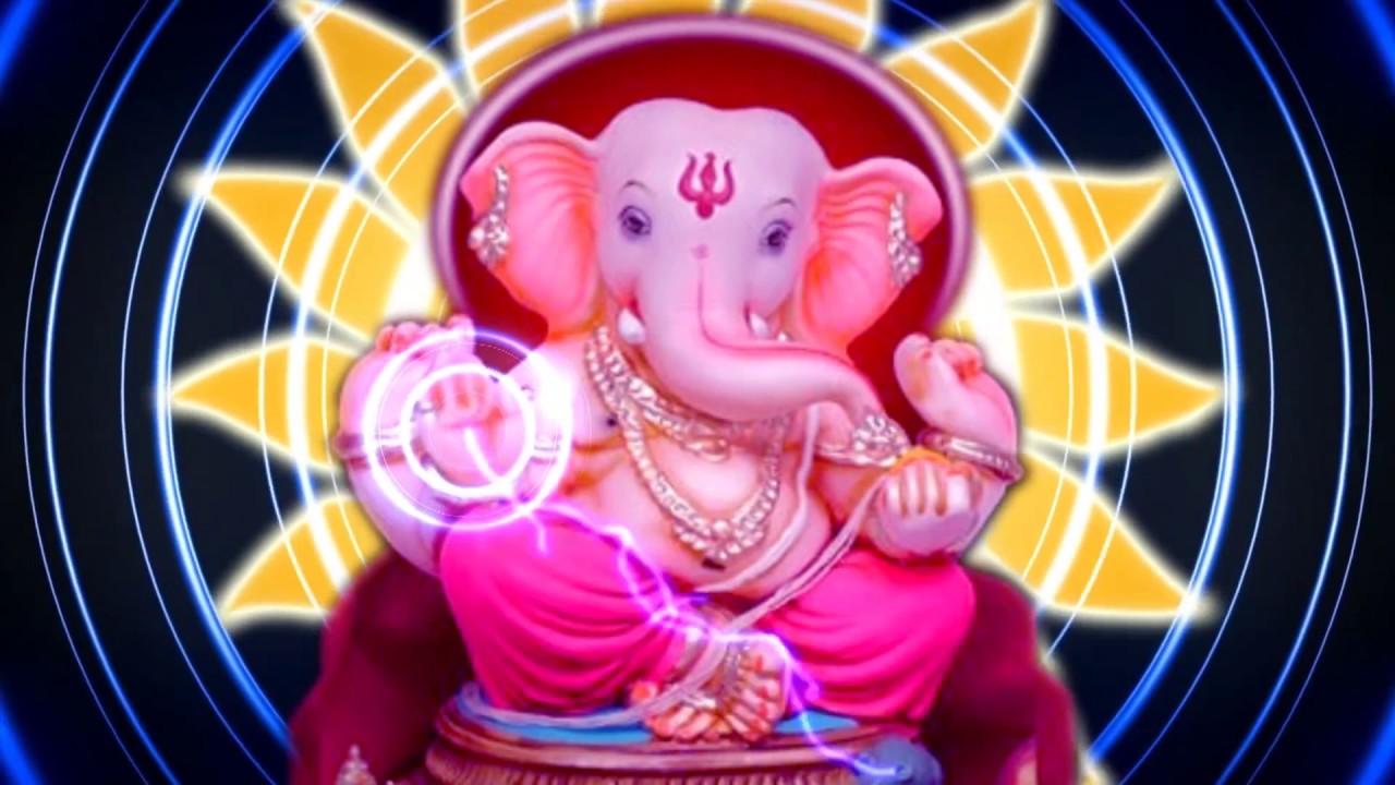 Lord Ganesha Hd Background 1080p Free Download Dmx Hd Bg 352 Youtube