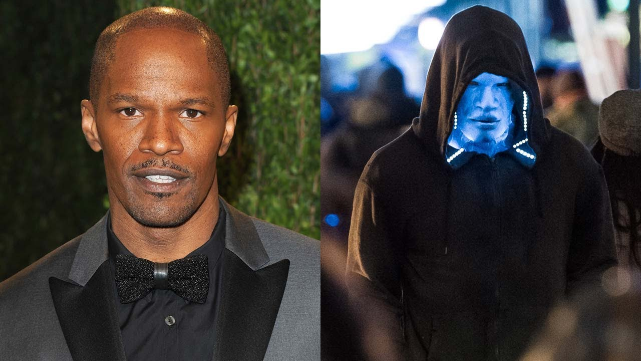 "Jamie Foxx ""Electro"" 'The Amazing Spider-Man 2' First Look ..."