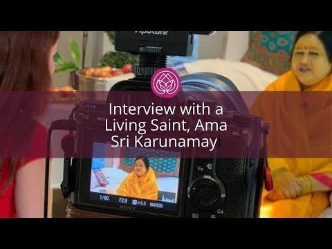 Interview With Amma Sri Karunamayi, A Living Saint & Dr Marina Kostina For Authority Magazine