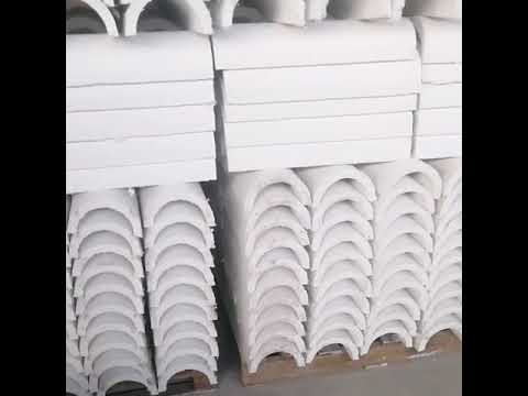 factory-price-asbestos-free-calcium-silicate-insulation-pipe-section-cover