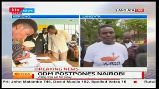 Angry Kibera residents protest against ODM Party's decision to postponed Nominations