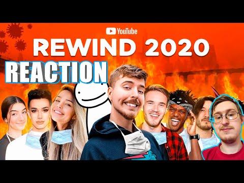 Youtube Rewind 2020, Thank God It's Over | MrBeast | RUSSIAN REACTION