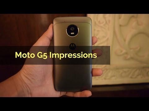 Motorola Moto G5 (3GB) Review Videos