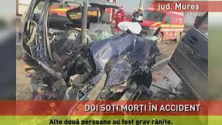 Doi soţi au murit, în urma unui accident rutier