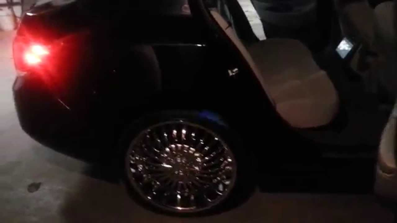 Buick Lacrosse On 22 Strada Spina Chrome Wheels Youtube