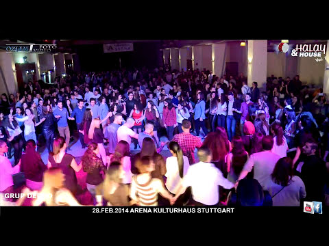 HALAY & HOUSE Night / GRUP DERDO / 28.02.2014 Stuttgart Kulturhaus Arena / Özlem Foto Video®