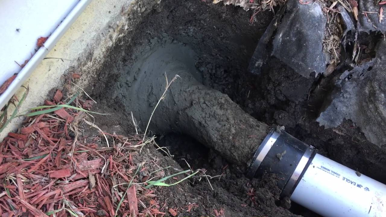 Septic Line Repair 2016 Youtube