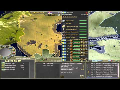 Supreme Ruler 2020 - Kingdom of Serbia - Part 22 - Battle of Scandinavia Part 1