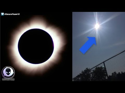 nouvel ordre mondial | UFOs Happenings During Solar Eclipse in the world - AUGUST 21, 2017