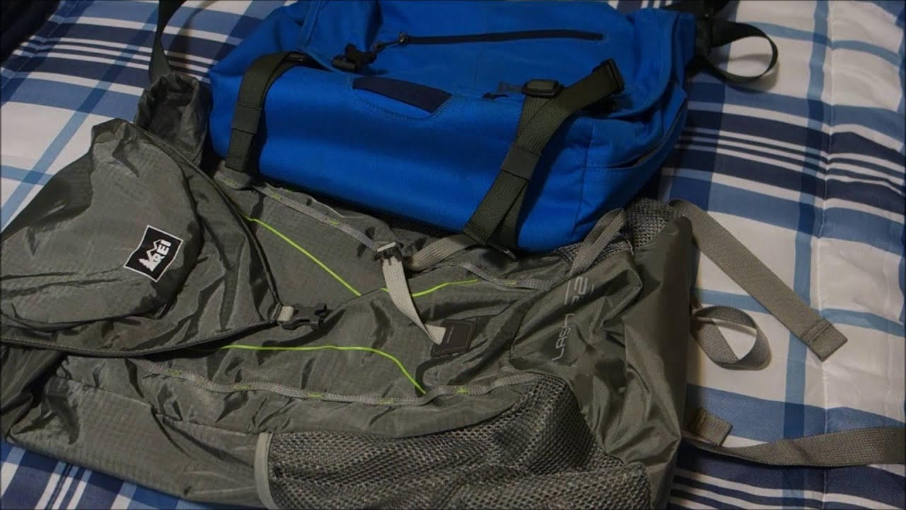 20a0f12fa6b0 REI Flash 22 pack carry-on combo with Patagonia MiniMass - YouTube