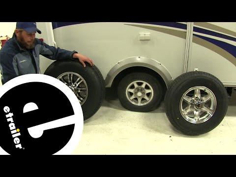 Lionshead Trailer Wheel Center Cap Review - etrailer.com
