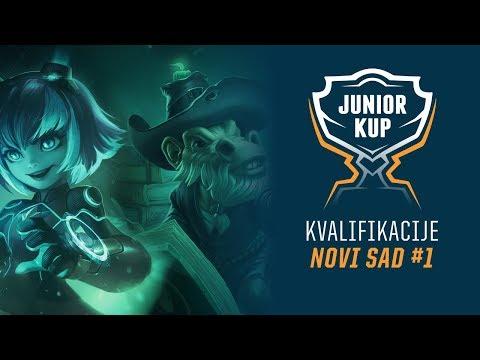 [LoL] Junior Kup - Kvalifikacije Dan 2 - Novi Sad /w Hakkinen & Sarezza