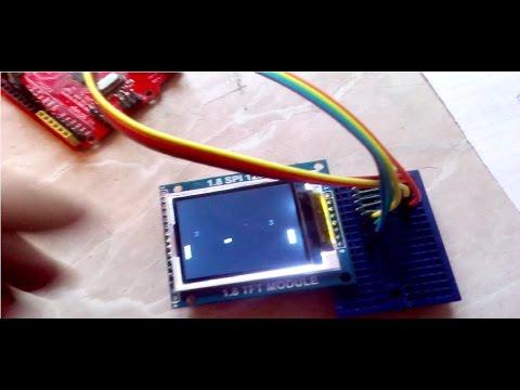 Подключение  1.8 SPI 128x160 дисплей для Arduino, разборка кода