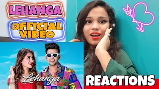 Girl's Reactions On Lehanga Official Vedio Song By Jass Manak