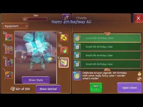Arcane Legends - BIRTHDAY